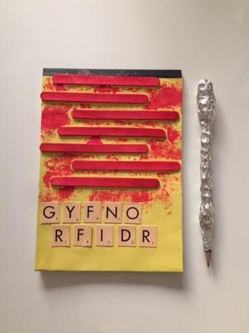Colour Notebook Gryffindor